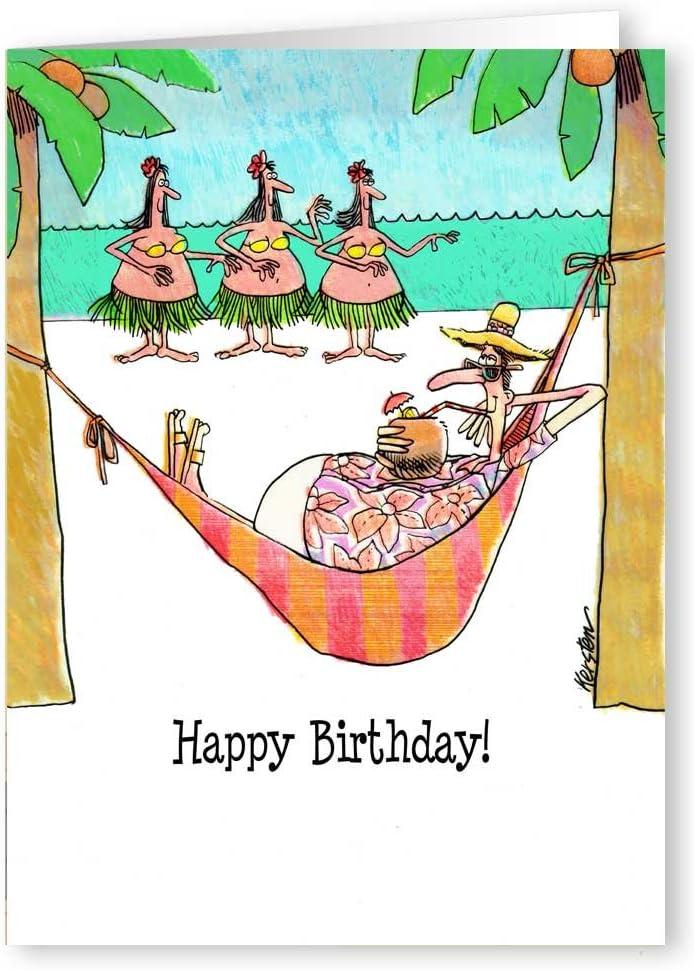 Amazon Com Birthday Wishes Funny Birthday Card Single Birthday Cards 5x7 Birthday Greeting Card Health Personal Care