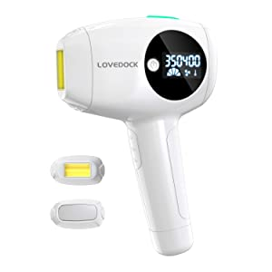 Facial & Body Laser Hair Removal for Women and Man,WPL Permanent Hair Removal Device with Ice Cooling Functions for Women Legs, Underarms, Bikini Area and Facial Hair