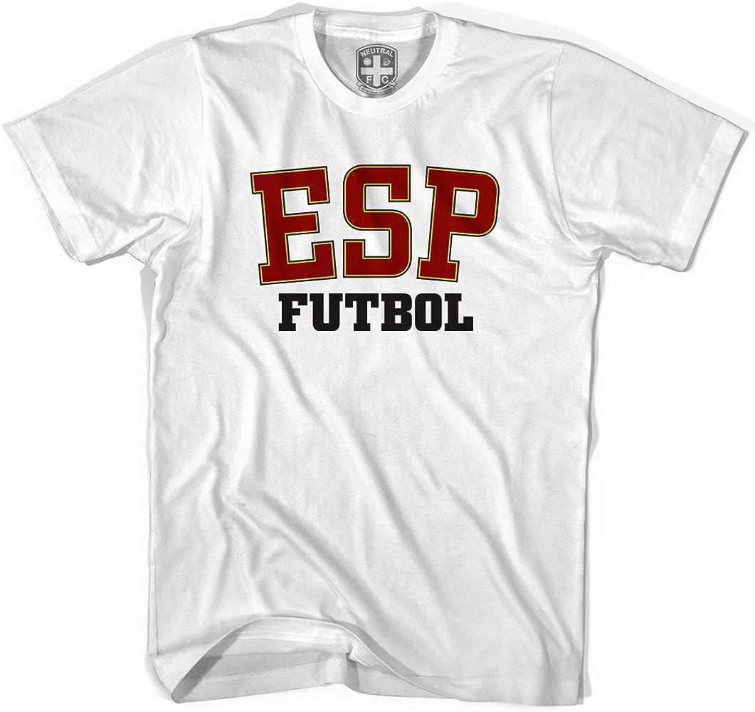 España ESP camiseta de fútbol Blanco blanco XS: Amazon.es: Ropa y ...