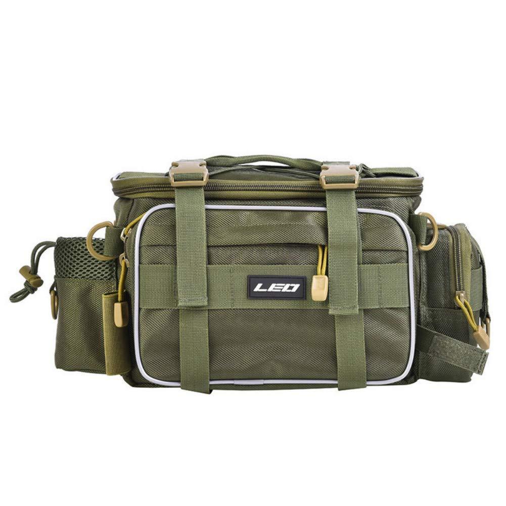Angeltasche Handtasche Reisetasche Tarnen Ruixf 1000D Oxfordstoff Werkzeugbeutel Wasserdichte Aufbewahrungstasche Schultertasche
