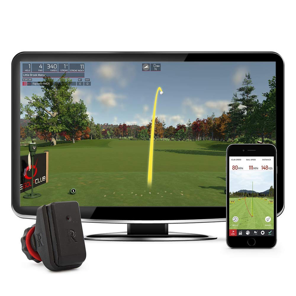 Rapsodo R-Motion and The Golf Club Simulator and Swing Analyzer by Rapsodo