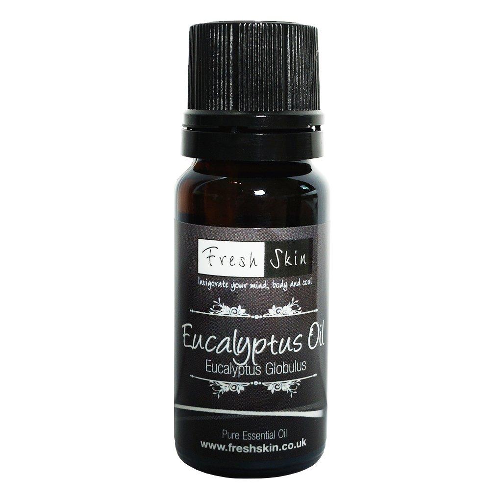 10ml Eucalyptus Pure Essential Oil FreshSkin 10ml Eycalyptus Oil