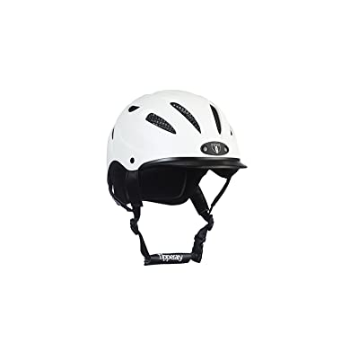 Tipperary Sportage 8500 Riding Helmet- Black Matte (XSmall) by Phoenix Performance Products