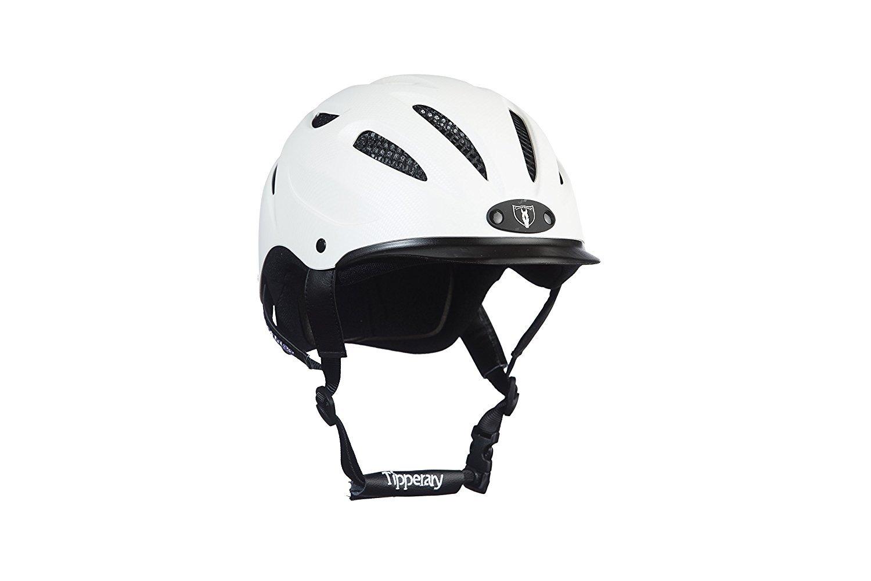 Tipperary Sportage 8500 Riding Helmet XS White