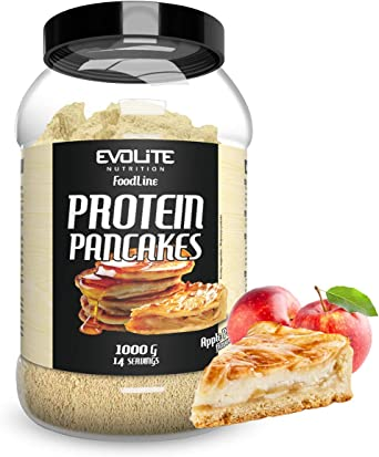 Evolite Protein Pancakes 1000g 1kg 1 pack (Apple Pie)