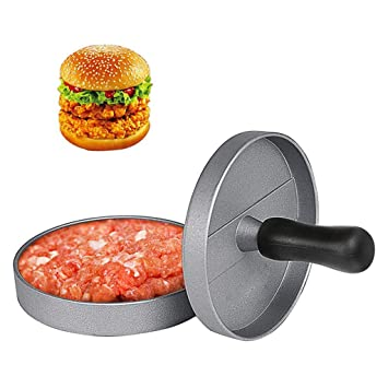 Foodie Prensa de Hamburguesas, Aleación De Aluminio, Antiadherente, Pastel De Carne, Molde