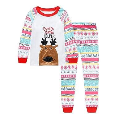 K-youth Pijamas Bebe Niño Navidad Ropa para Bebe Niña Recien Nacido ...