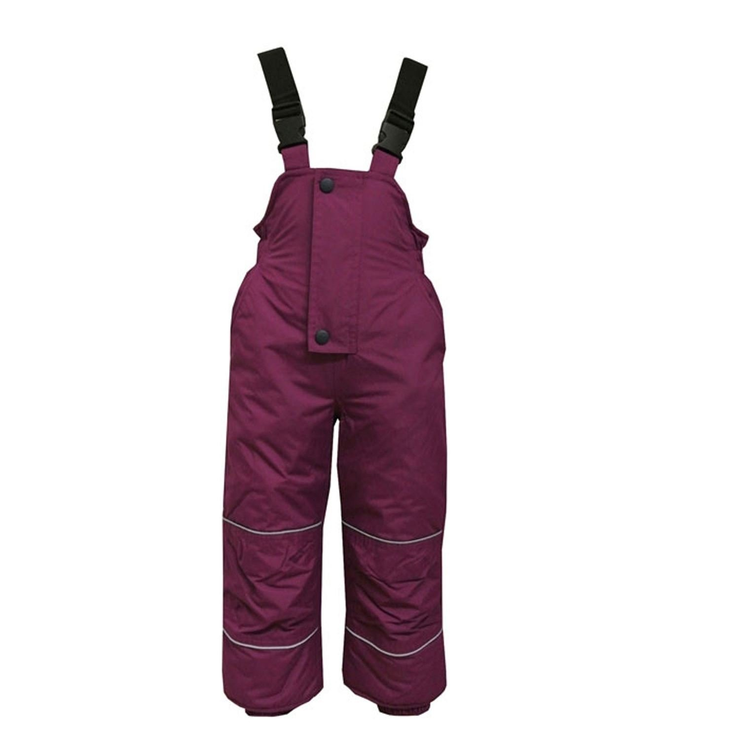 Outburst - Kids Girls Skihose Snowhose Waterproof 10,000 mm water column, blackberry