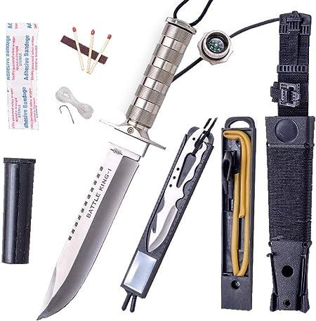 JKR 602- Cuchillo de Supervivencia, Modelo Battle King I ...