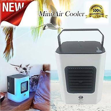 Amazon.com: Miniventilador de aire acondicionado de carga ...