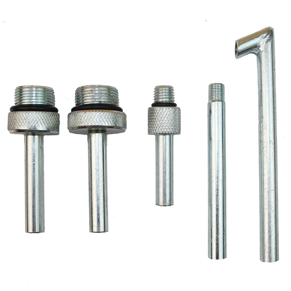 5Pcs/Lot Transmission Fluid Oil Filling Filler Adapter ATF DSG CVT 09G 01J 722.9 for VW Audi Benz by LARBLL