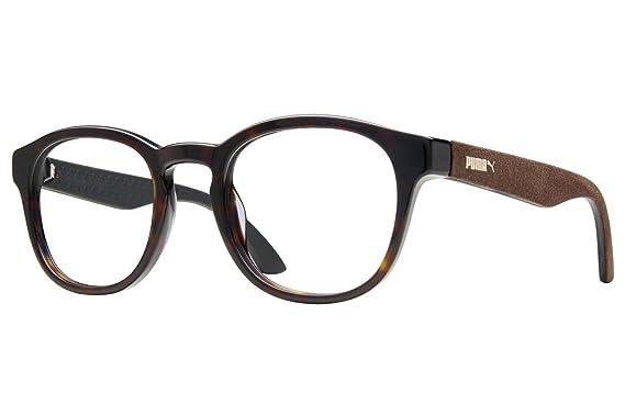 Puma PU0043O Mens Eyeglass Frames - Havana at Amazon Men\'s Clothing ...
