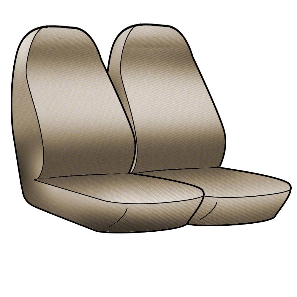 Tan with Black Sides Coverking Custom Fit Front 50//50 Bucket Seat Cover for Select Nissan Frontier Models CSC2A5NS9759 Neosupreme