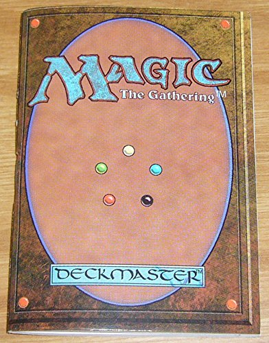 - Magic the Gathering 4th Edition Rulebook / Strategy Guide - vintage mini book ; MTG (misc)