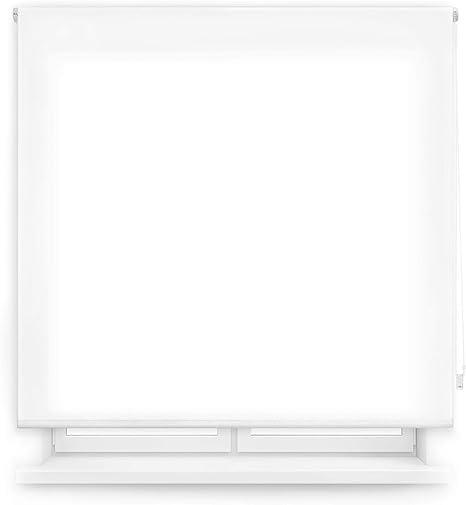 80 x 175 cm Blac Blindecor 110210160 Store Enrouleur Translucide Uni