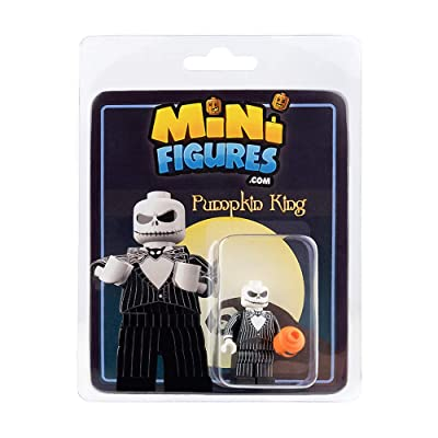 Custom Design Minifigure - NBC Pumpkin King: Toys & Games