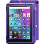 """Introducing Fire HD 10 Kids Pro tablet, 10.1"""", 1080p Full HD, ages 6–12, 32 GB, Doodle"""