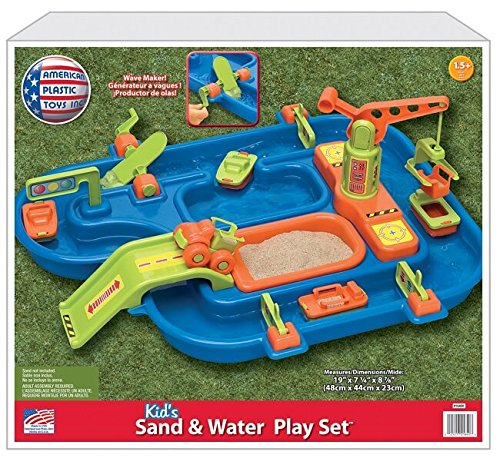 Outdoor Water Play (Sand and Water Play Set)
