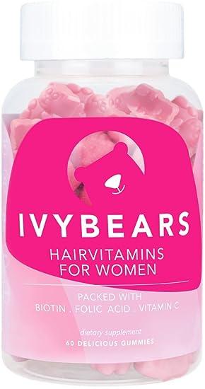 ivybears® | Hair multi-vitamins | pelo vitaminas | Biotina, folic Acid, pelo vitaminas: Amazon.es: Belleza