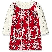 Hatley Kids Womens Pretty Snowflakes Mod Dress (Toddler/Little Kids/Big Kids)