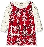 Hatley Girl's Pretty Snowflakes Mod Dress