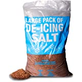 20KG Bag Of Rock Salt. Ideal for Keeping Driveways and Entrances Clear - Comes With TCH Anti-Bacterial Pen!