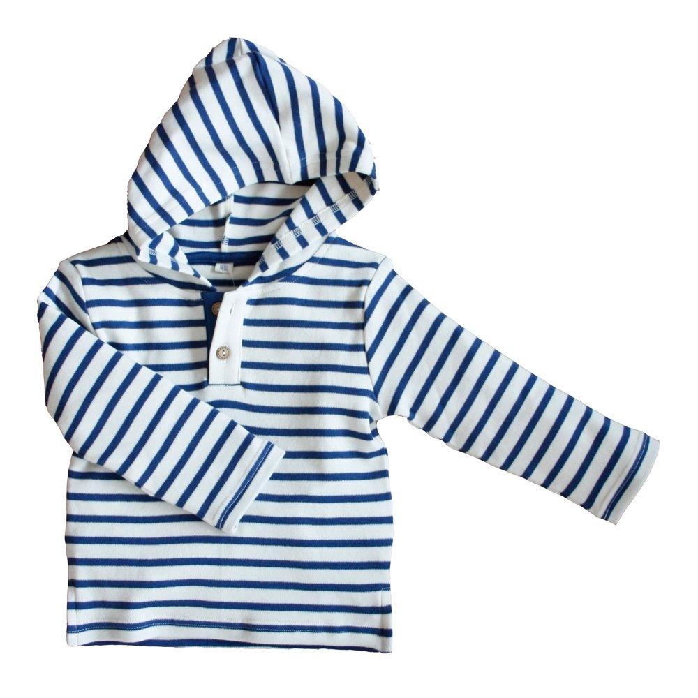Leela Cotton Baby//Kinder Kapuzenshirt aus Bio-Baumwolle