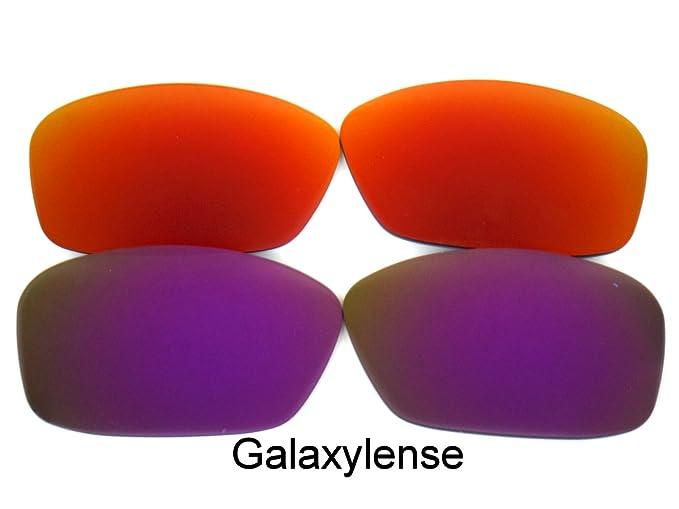 c7b508f775 Amazon.com  Galaxy Replacement Lenses for Oakley Hijinx Purple Red ...