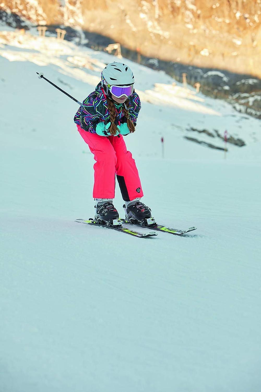 Colonne deau 10 000 killtec Gizela Allover Jr Veste de Ski Fonctionnelle avec Capuche et Jupe Pare-Neige