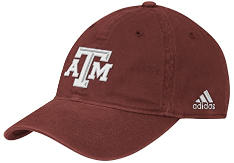 on sale cb5b6 51a24 Texas A M Aggies Adidas NCAA Slope Fitted Hat - Maroon