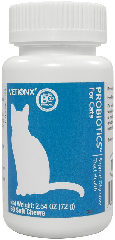 VETiONX Probiotics for Cats & Kittens - 60 Count