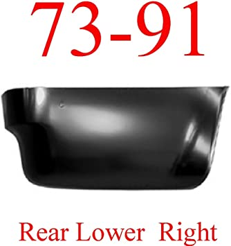 73-87 Chevy 8 Right Rear Lower Bed Panel