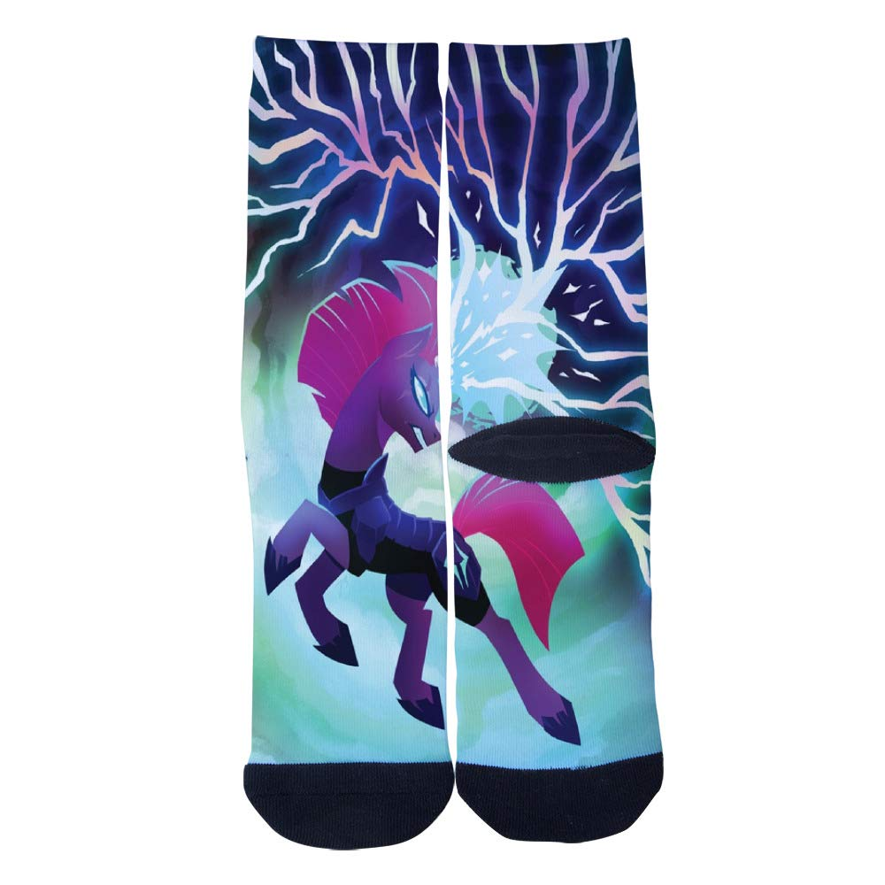 Tempest Ability Unicorn Socks Mens Womens Personality Casual Socks Custom Sports Socks Creative Fashion Crew Socks