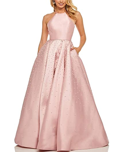 552600bb5e Roiii Women's Appliques Beaded Party Evening Dress Chiffon Lace Formal Long  Maxi Dress