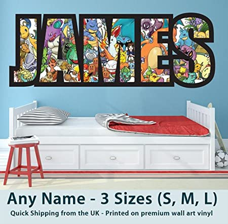 Childrens Name Wall Stickers for Boys//Kids Bedroom - Any Name ... on pirates decorating ideas, hockey decorating ideas, batman decorating ideas, snoopy decorating ideas, lord of the rings decorating ideas, dragon decorating ideas, sports decorating ideas, wwe decorating ideas, nba decorating ideas, funny decorating ideas, disney decorating ideas, zelda decorating ideas, minecraft decorating ideas, pokemon wall decor, art decorating ideas, science decorating ideas, marvel decorating ideas, indiana jones decorating ideas, magic decorating ideas, girls decorating ideas,