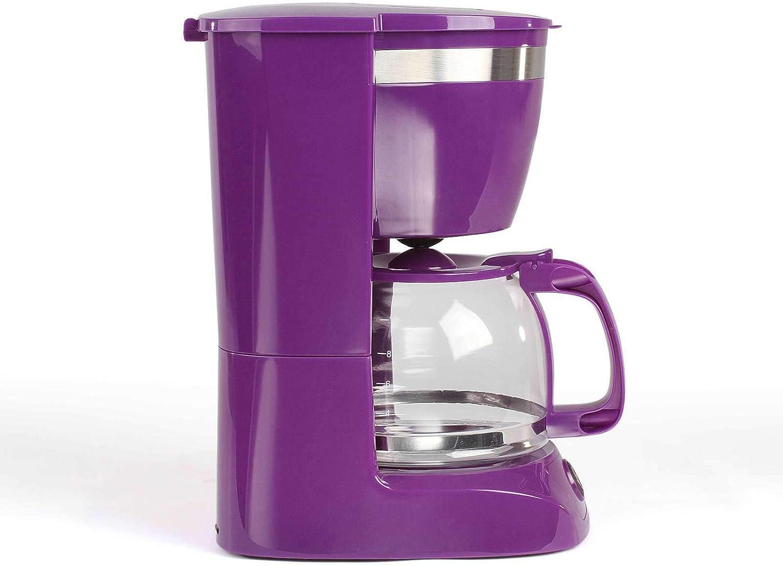 Cafetera de goteo con jarra de cristal para 12 tazas, función de ...