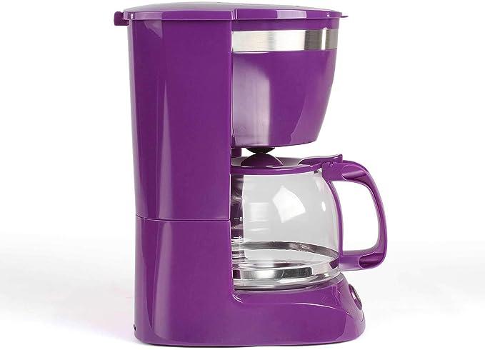 Cafetera de goteo con jarra de cristal para 12 tazas, función de mantenimiento en caliente (cafetera, cucharilla de café, apagado automático, indicador de nivel de agua): Amazon.es: Hogar