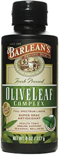 product image for Olive Leaf Complex Peppermint - Barlean's - 8 oz - Liquid