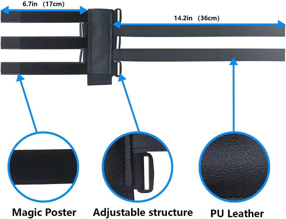 soporte de altavoz de bicicleta accesorio de correa ajustable Correa de montaje de bicicleta accesorios de bicicleta impermeables para barandas de carritos de golf correa ajustable