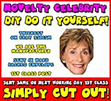 DIY - Do It Yourself Face Mask - Judge Judy Celebrity Face Mask