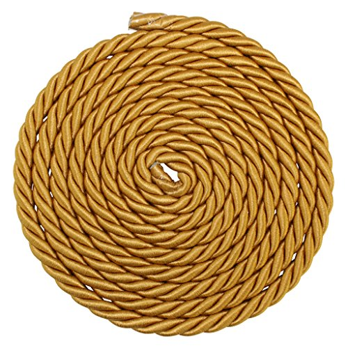 1//4 3//16 3//8 Several Colors SGT KNOTS Twisted Craft Rope//D/écor Trim Cord - Copper 3//16 x 100 1//2