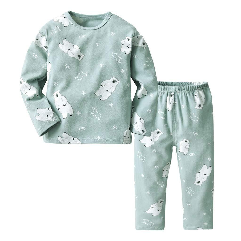 662d151f5 Amazon.com  AutumnFall 2PCS Toddler Kids Baby Girls Cartoon Sheep ...