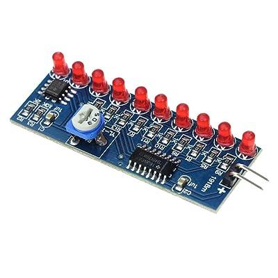 IS Icstation DIY NE555 Red LED Flash Light SMD Soldering Practice Kit: Toys & Games