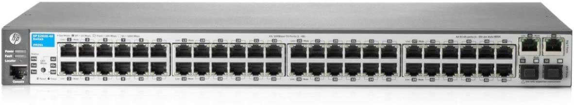 HP Procurve 2620-48-PoE+ Layer 3 Switch (J9627A#ABA)