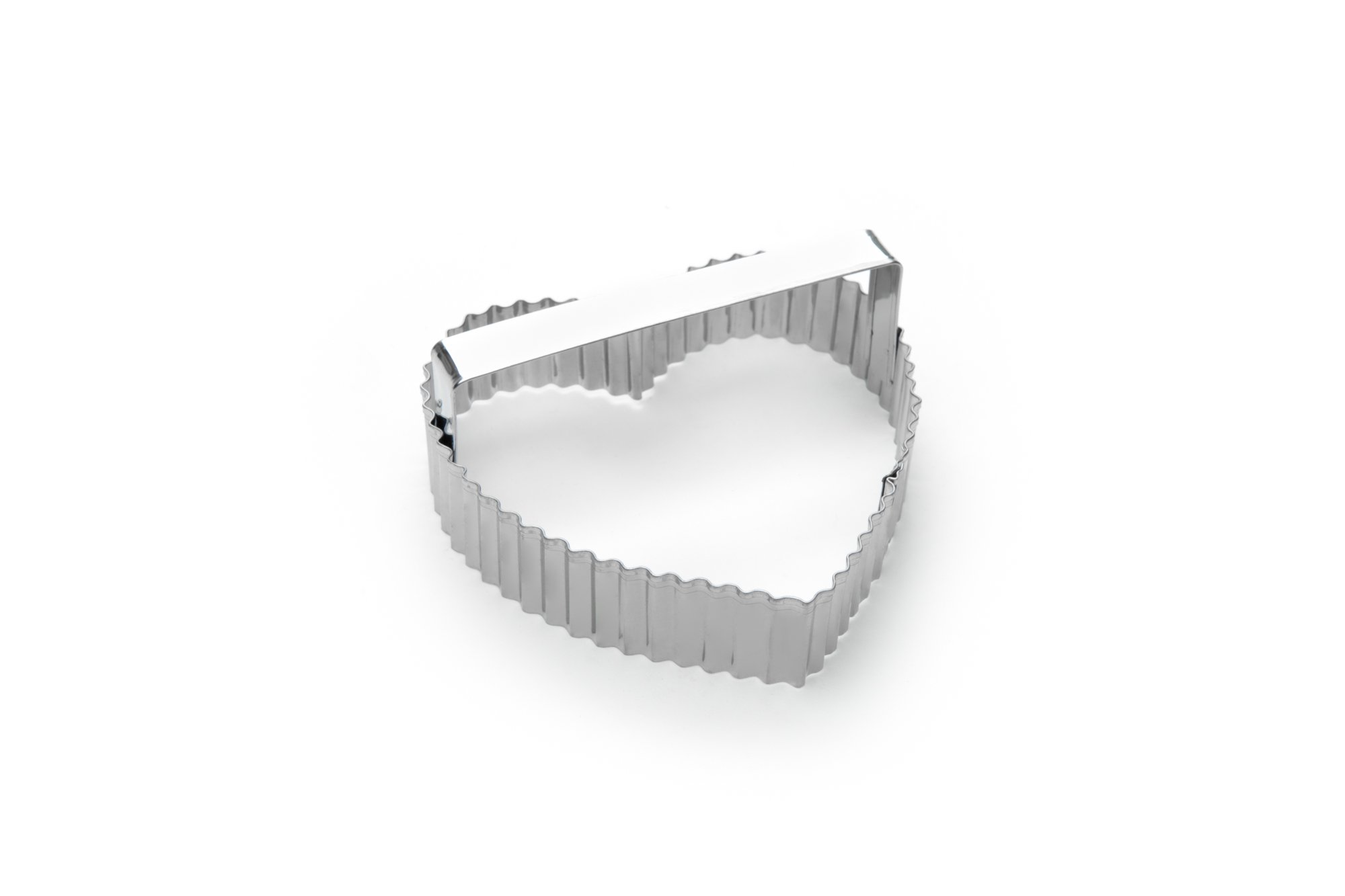 Fox Run 3444 Crinkled Heart Cookie Cutter, 4-Inch, Stainless Steel