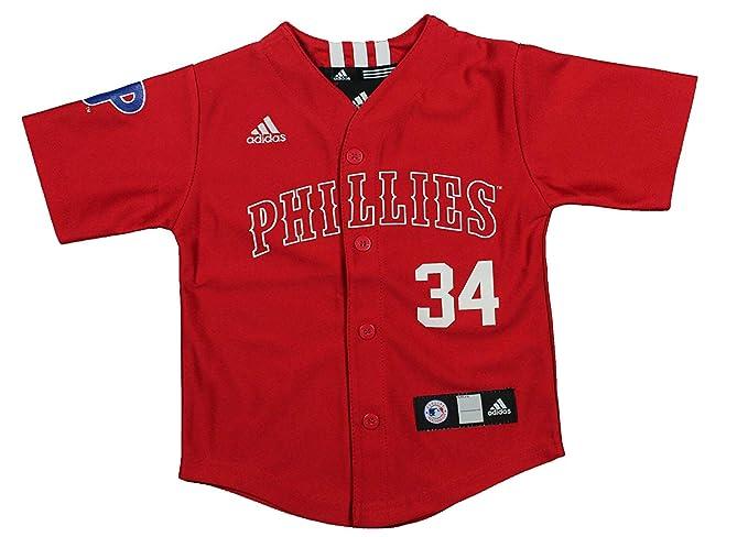 Amazon.com  MLB Philadelphia Phillies Roy Halladay Toddlers Jersey ... ee8ff3e5316