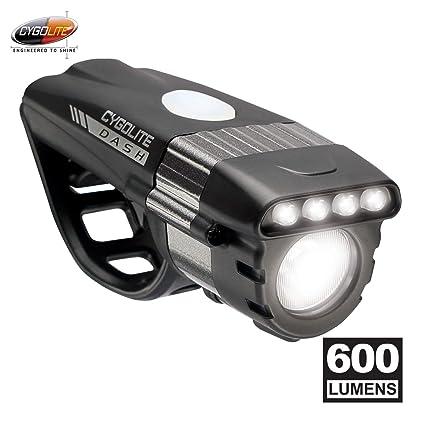 aaf723fe673 Amazon.com   Cygolite Dash Pro- 600 Lumen Bike Light- 5 Night   3 ...