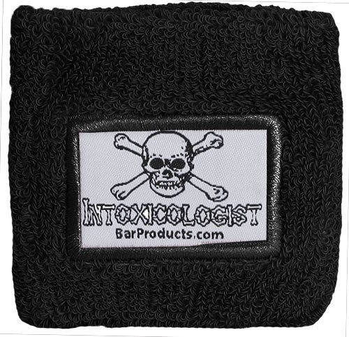 Black Armband with Intoxicologist Patch -