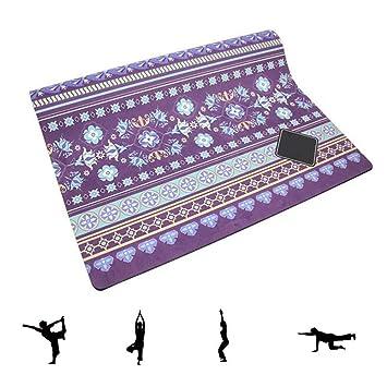 Grist CC Estera de Goma Multifuncional para Yoga, Estera de ...