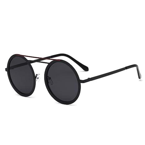RDJM Occhiali da sole per donna, occhiali stile europeo e americano Occhiali da sole con montatura in metallo UV400, Multicolor Opcional, a